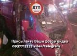 В Києві сталося масштабне ДТП через нетверезого водія