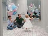 Сергій Притула привітав дочку з першим днем народження: зворушливе фото