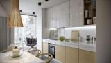 Дизайн идеи для кухни с балконом (ФОТО 20+)