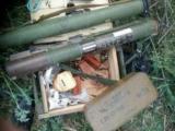 СБУ обнаружила на Донбассе большой тайник с оружием и боеприпасами