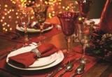 Праздничный декор новогодний стол в канун Рождества 2017: сервировка, декор, дизайн, идеи