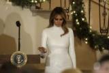Меланія Трамп разом з чоловіком провели різдвяний бал в Білому домі