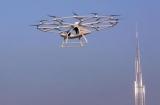 В Дубае испытали первое в мире беспилотное летающее такси (фото, видео)