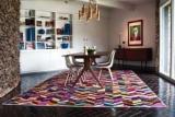 Дизайнерский ковер на полу: новый взгляд на оформление комнаты